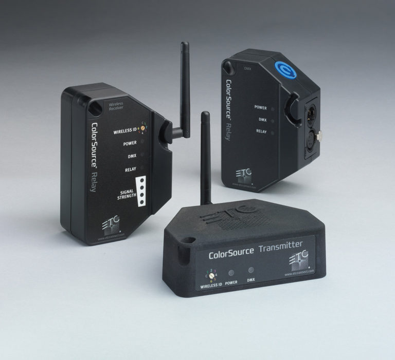 New software for ETC's ColorSource Relay implements wireless RDM