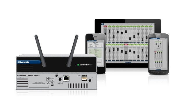 Symetrix reveals new Control Server, USB Audio Card and Composer update
