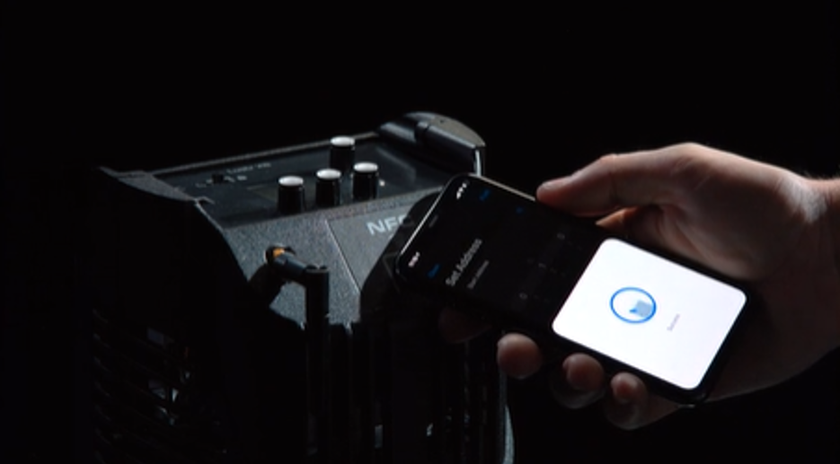 Use NFC technology and ETC's Set Light App to quickly apply personality and DMX settings to Source Four LED Series 3.